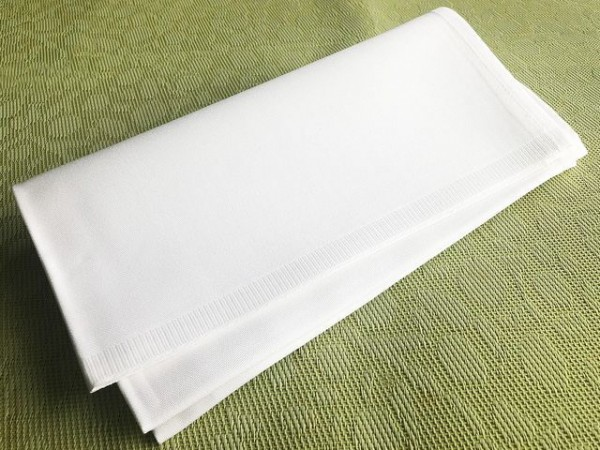 50 cloth napkins, white, without pattern, 50x50